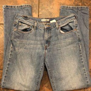 Levi jeans size 10 m straight leg